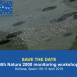Save the date: 4th Natura 2000 monitoring workshop